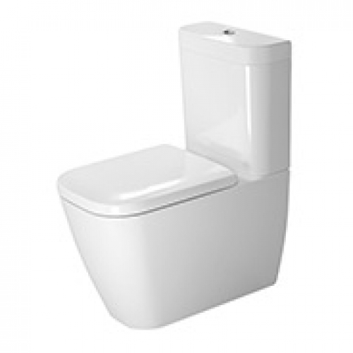 Duravit Happy D.2 Toilet suite back to wall
