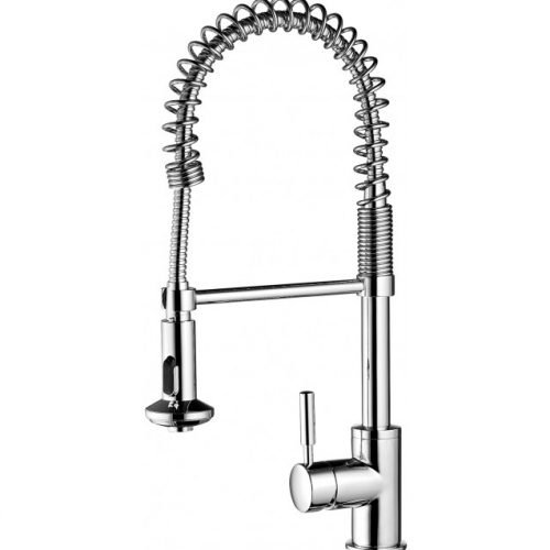 Methven Minimalist Spring Pull Down Sink Mixer with Twin Action Spray