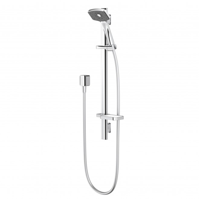 Supply & Install: Waipori Satinjet Slide Rail Shower